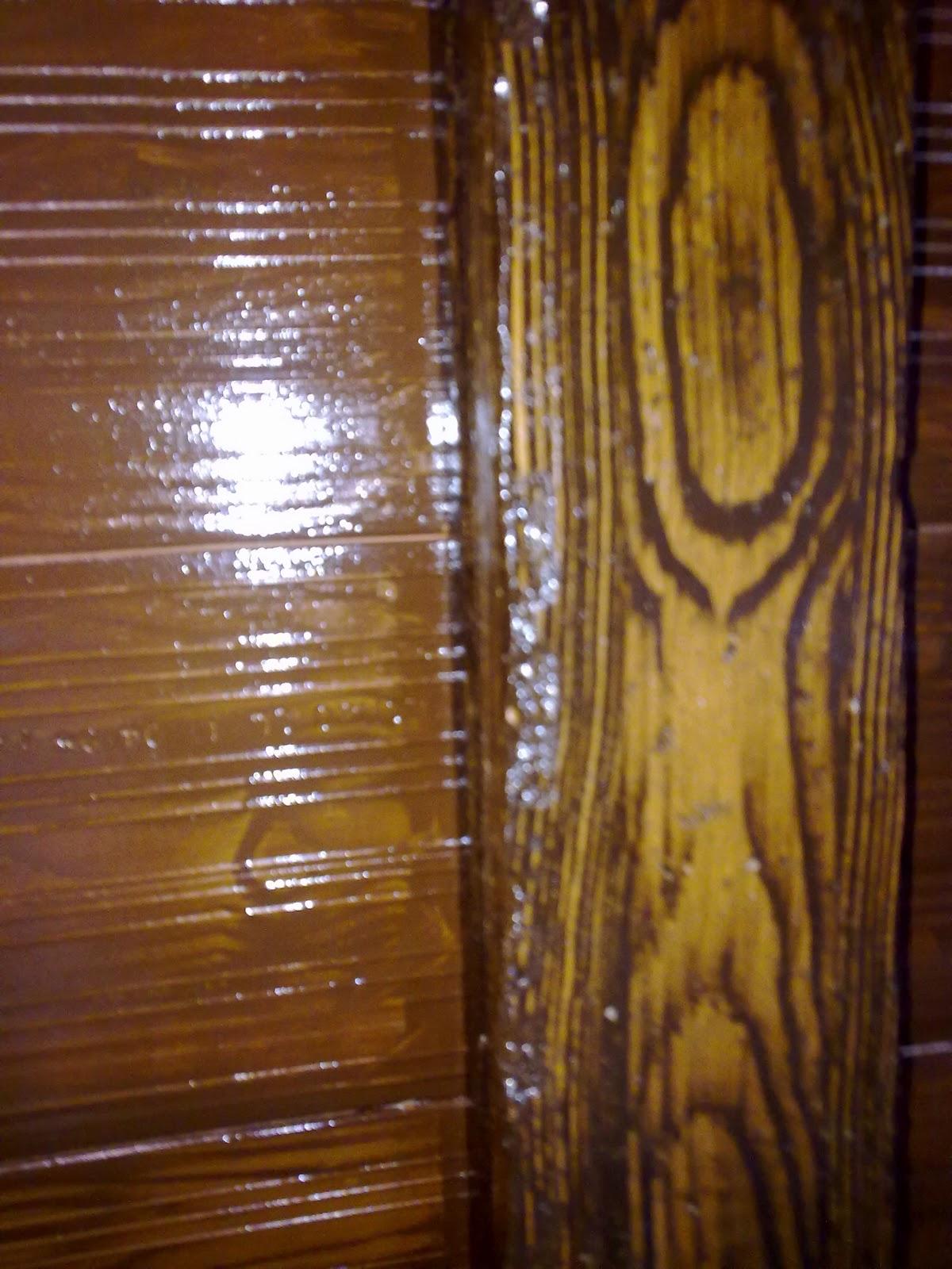 imitacion de vigas de madera: