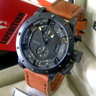 jam tangan expedition E6381M Black, jam tangan murah
