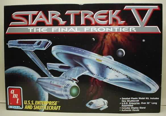 1989 - Star Trek V the final frontier Amt-Ertl-6876
