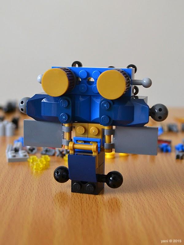 lego ninjago electromech - mech torso