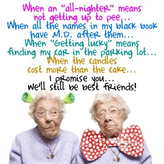 Funny Quote - Old Best Friends