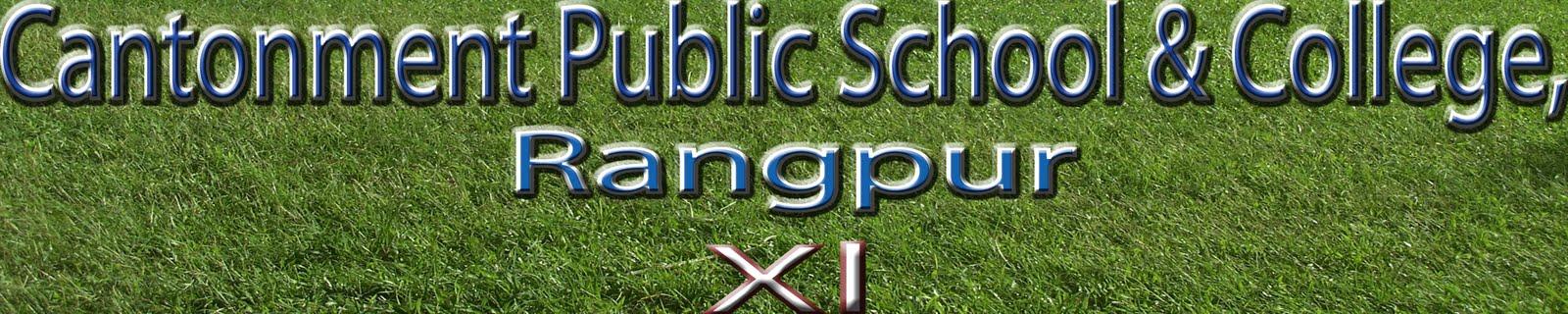 Cantonment Public School & College, Rangpur