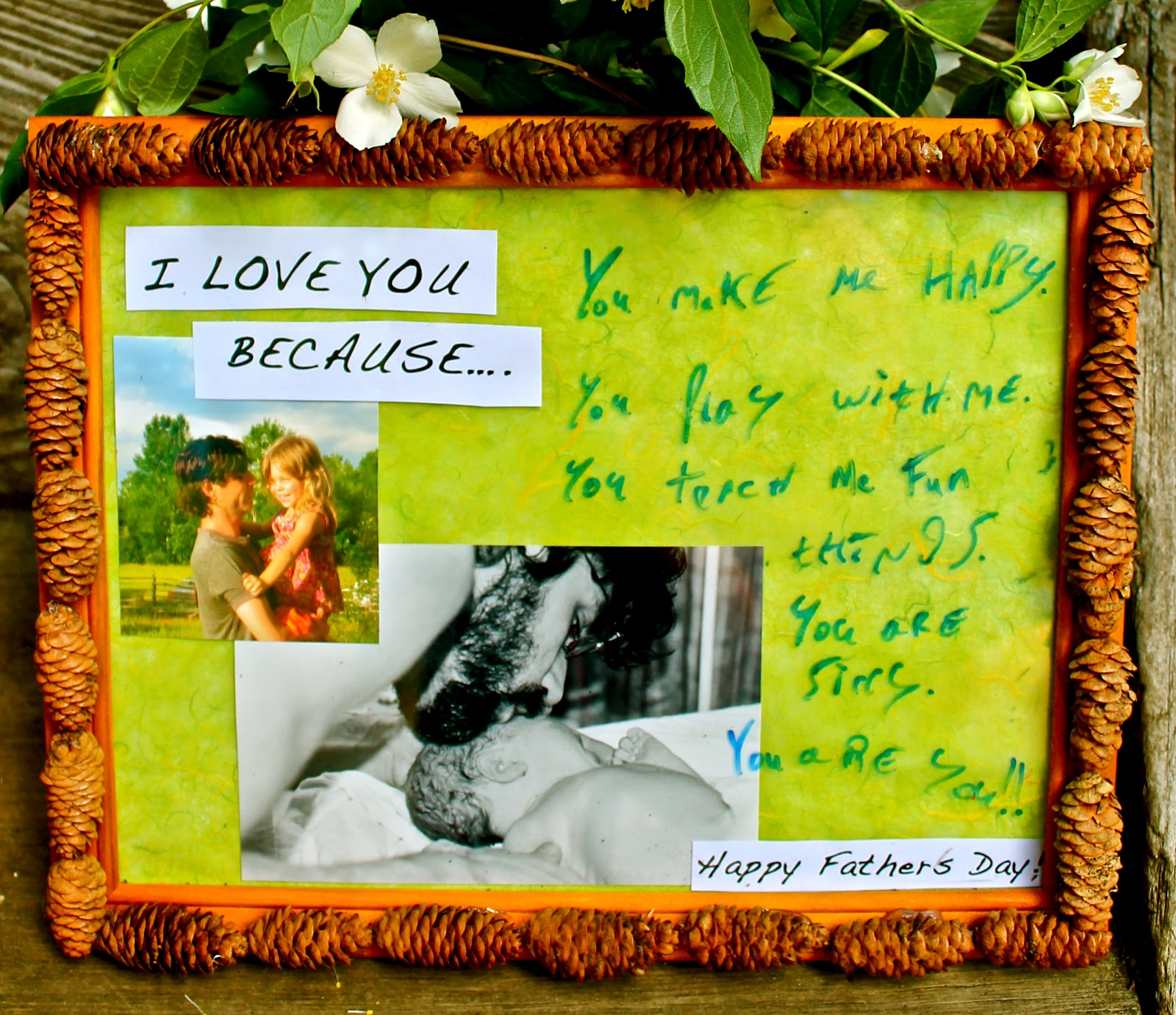 Twig and Toadstool: Father\'s Day Keepsake Frame