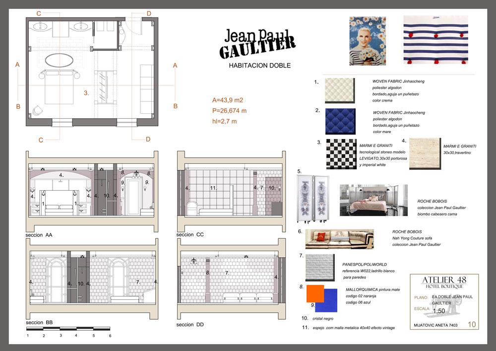 Proyecto de decoracion de interiores tendencias para la for Proyecto decoracion interiores