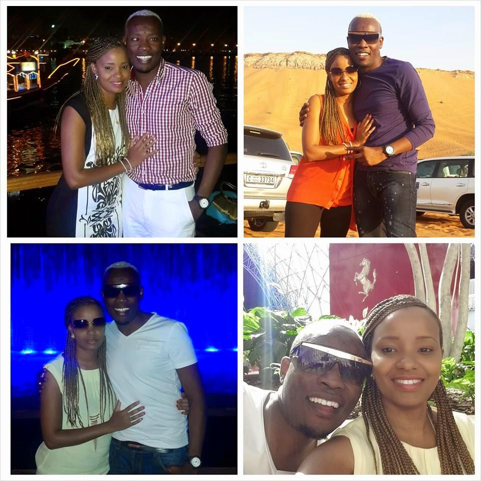 Daddy Owen and Faridah Wambui