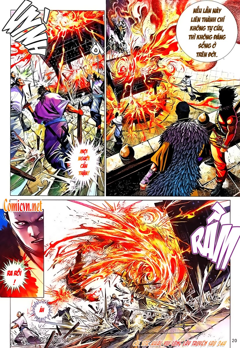 Phong Vân chap 641 Trang 20 - Mangak.info