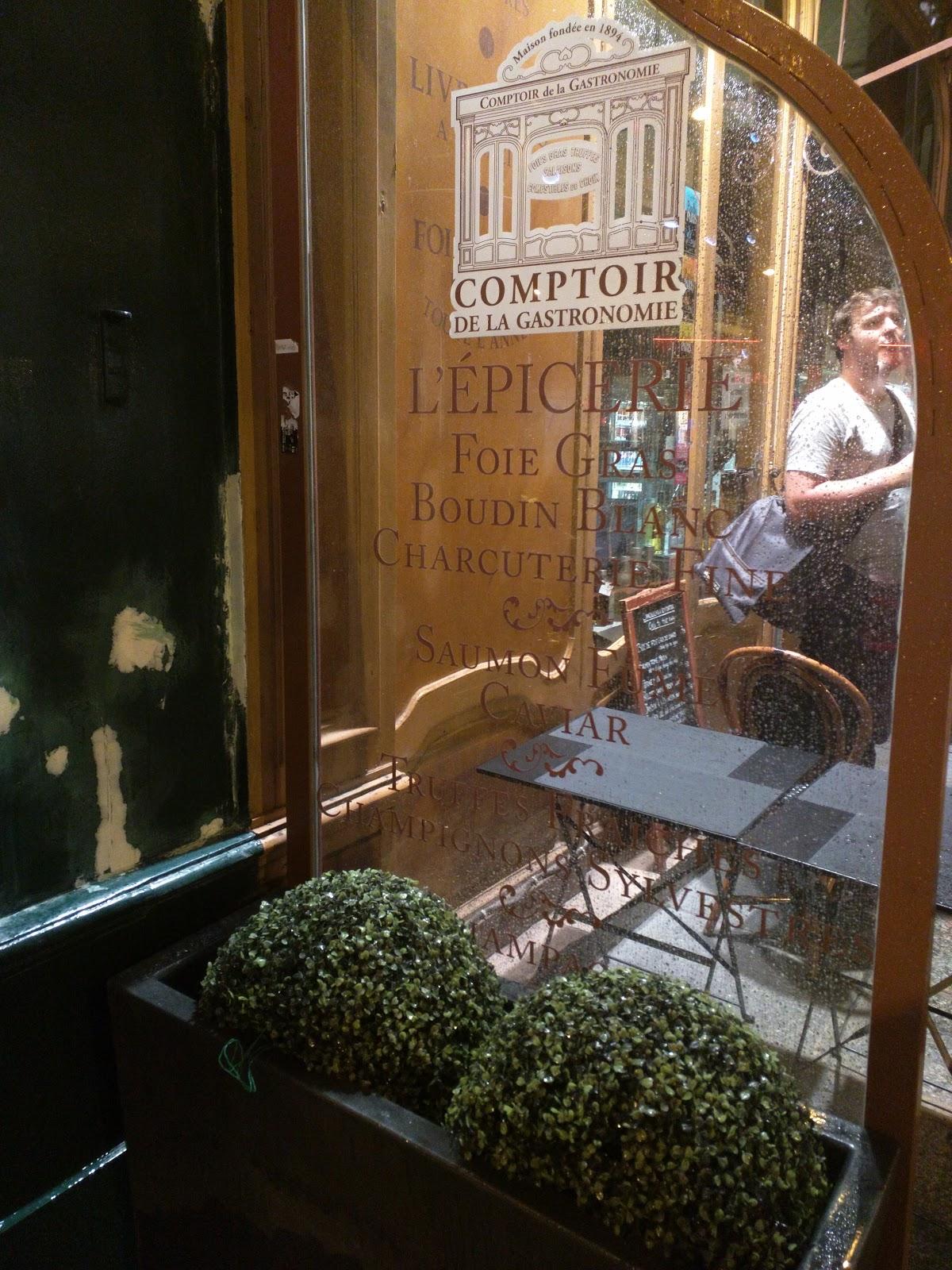 Dinner le comptoir de la gastronomie paris julie 39 s - Comptoir de la gastronomie ...