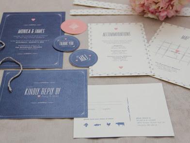 Modern Vintage Wedding Collection