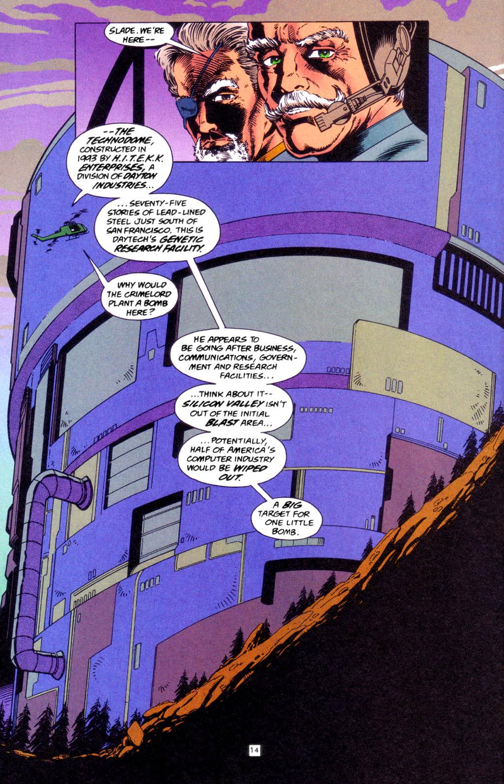 Deathstroke (1991) Issue #49 #54 - English 14