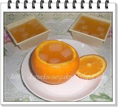 Punding Jelly, Puding jeruk Sari Kelapa, Puding Jeruk Nata de Coco