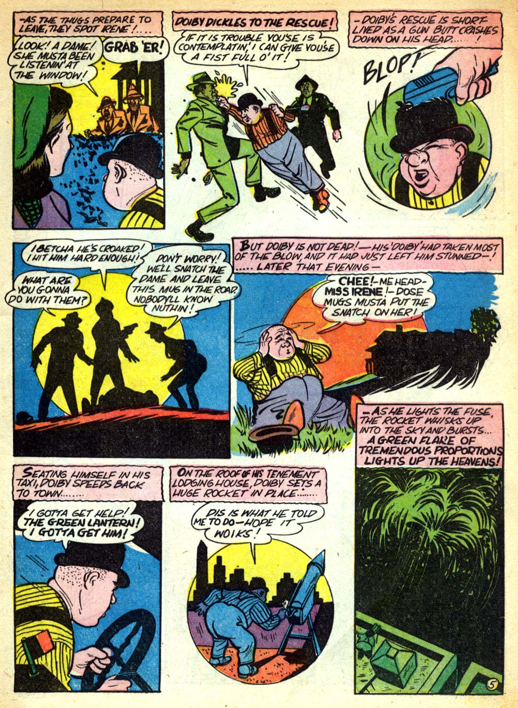 Read online All-American Comics (1939) comic -  Issue #28 - 7