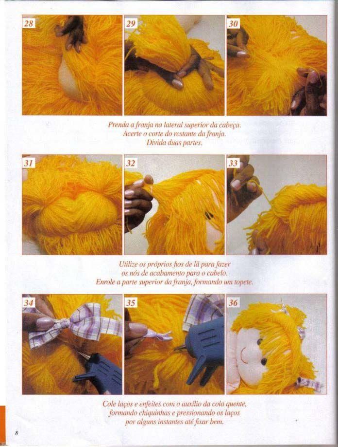 artesanato fofo boneca de pano porta fraldas