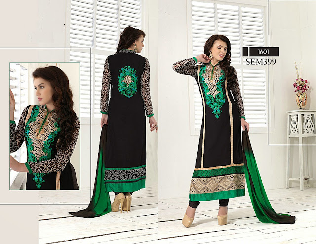 New Arrival Designer Neck Long Salwar Kameez