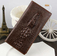 business mens crocodile wallet