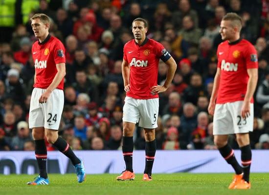 Darren Fletcher Manchester United Midfielder 2014