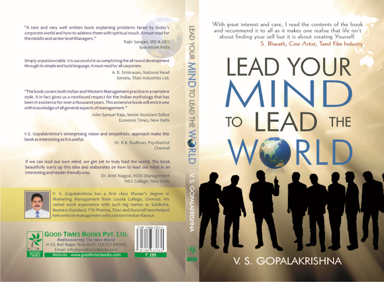 LEAD YOUR MIND TO LEAD THE WORLD BOOK PUBLISHED BY GOOD TIMES BOOKS