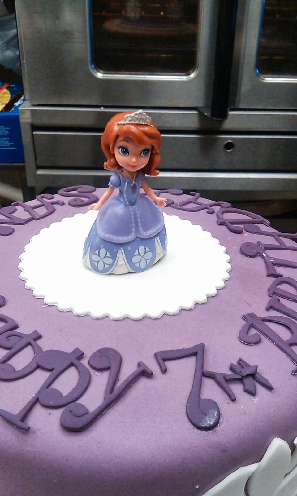 Cake Art Lawrenceville Hwy : CAFE AROMAS: Princess Sofia Cake