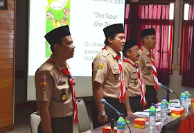 Rapat kepengurusan Pramuka Sakawanabakti (Munuju generasi muda yang mulia)