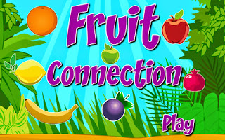 Screenshots of the Fruit Connection for Android tablet, phone.