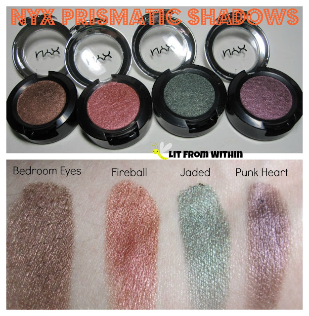 nyx professional makeup prismatic eyeshadow bedroom eyes - bedroom