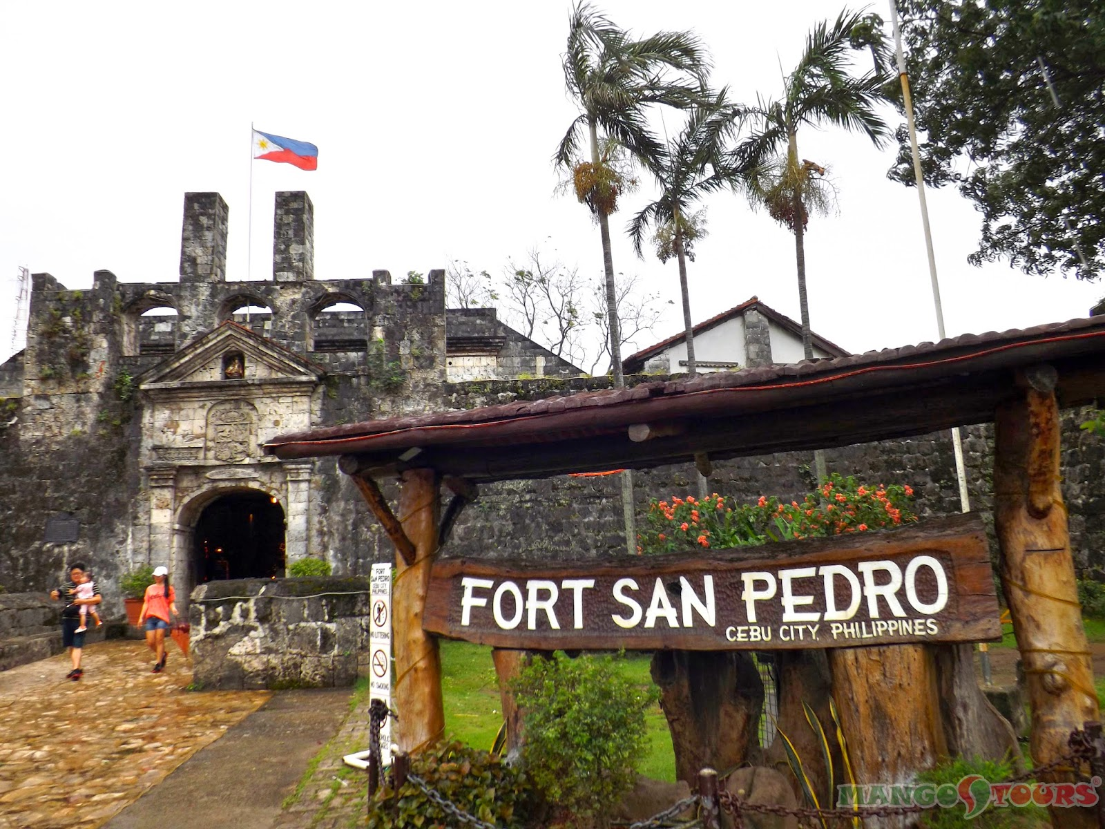 Mango Tours Cebu City attraction Fort San Pedro