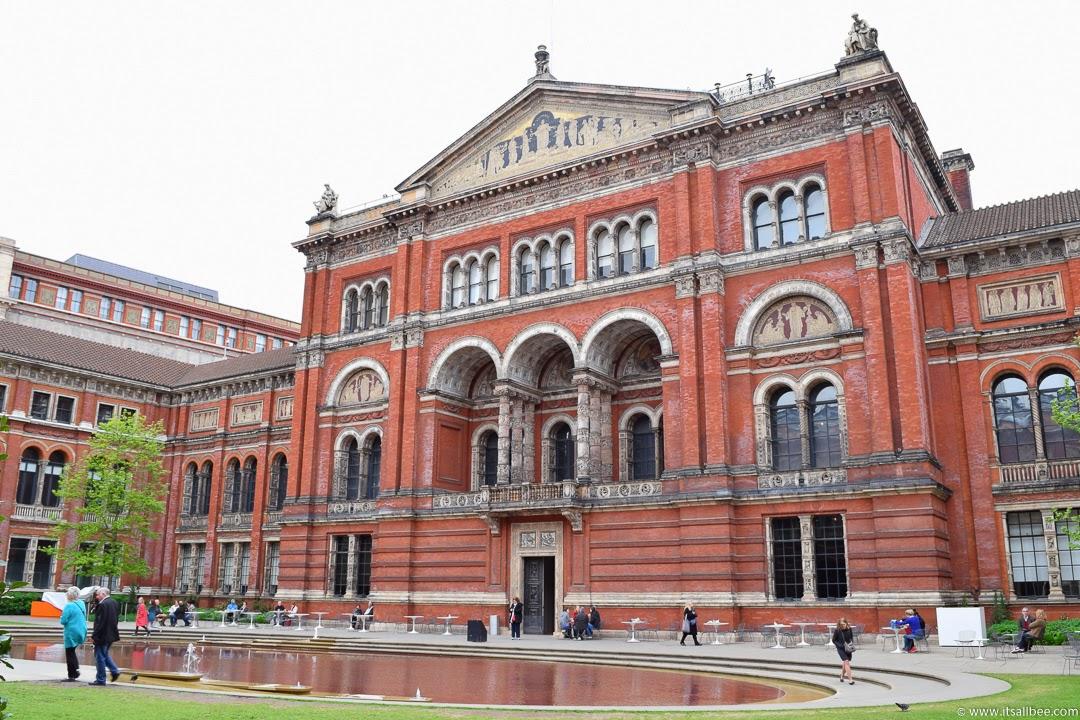 Brunch at victoria and albert museum itsallbee for Victoria and albert museum london
