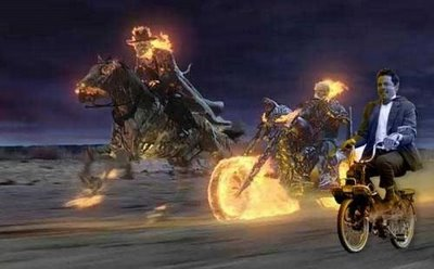ghost rider and mr. bean