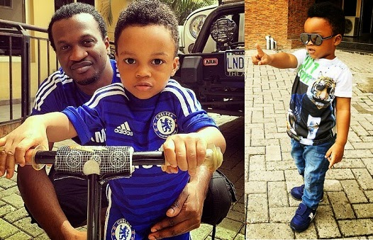 Paul Okoye's Son, Andrea Turns 2 chiomaandy.com