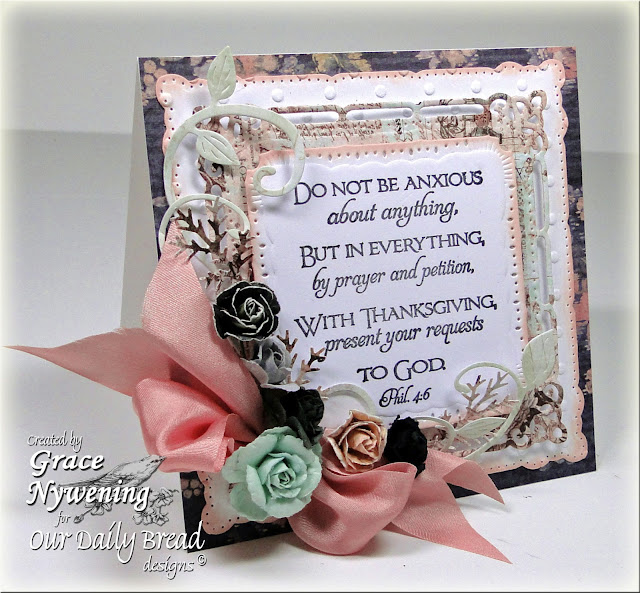 ODBD stamps, Scripture Collection 4, Grace Nywening