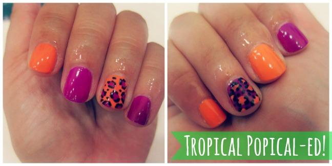 Fun Nail Art at Tropical Popical