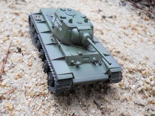 colección tanques de altaya 1/72 kv-1