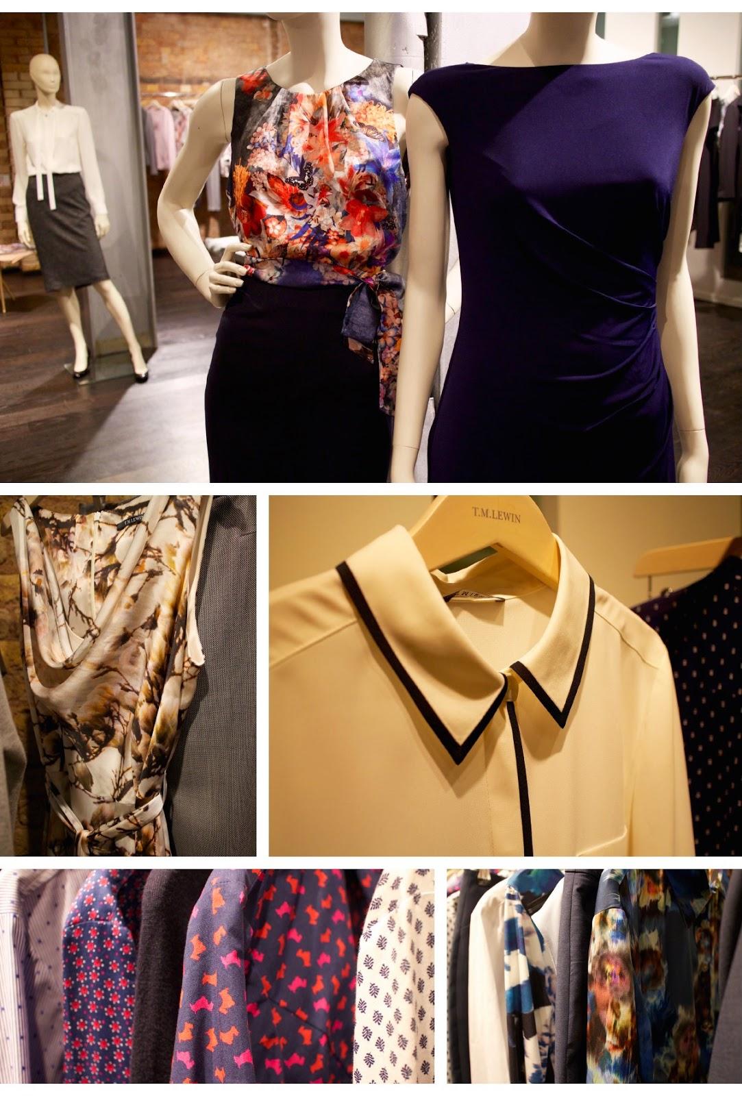 tm lewin aw15 womens womenswear autumn winter tailoring workwear