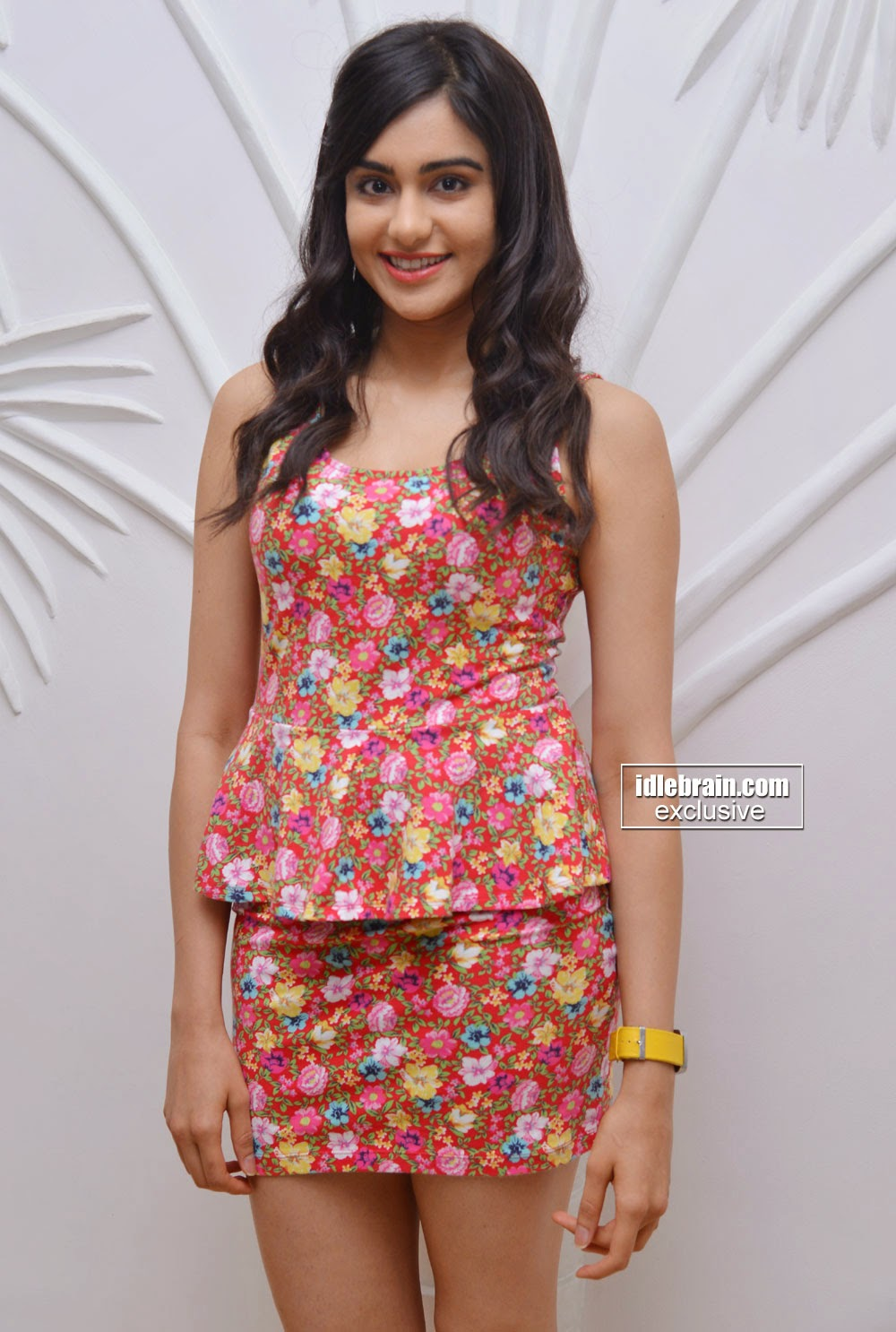 Adah Sharma at the announcment of signing up as the brand ambassador of Cell Point