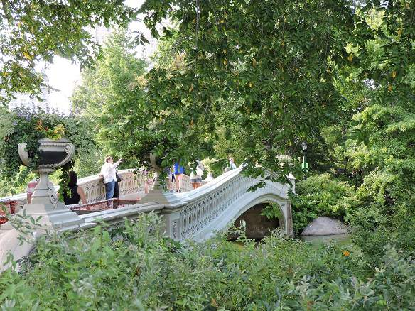 The Bow  Bridge by Central Park Rickshaw tours