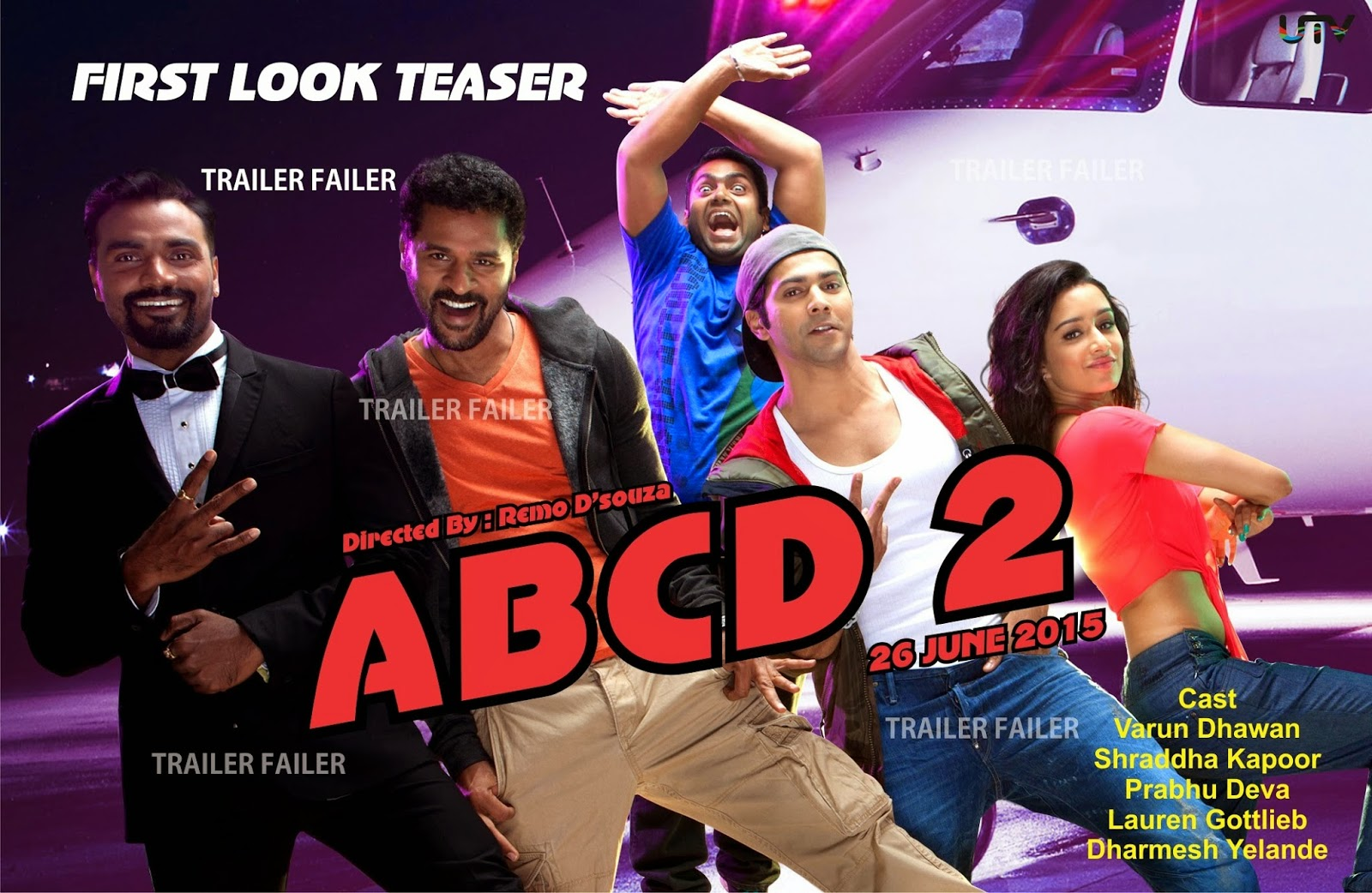 ABCD - Any Body Can Dance video song  1080p movie