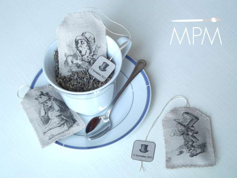Tea bags di Alice nel Paese delle Meraviglie