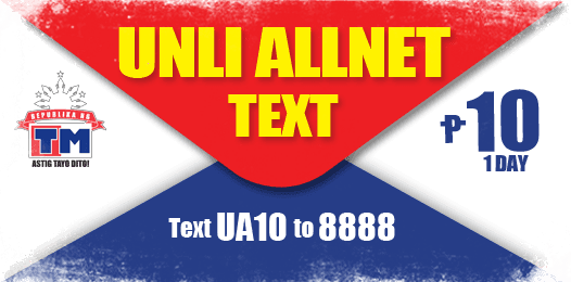 TM Unlitxt To All Networks – Unli AllNet Text Promo