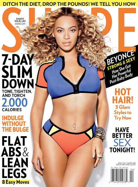 Beyonce Shape Magazine 2013