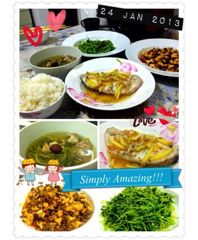 Allez cuisine his first try on chinese cuisine for Allez cuisine foods