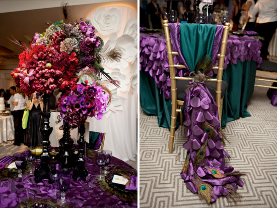 brideindream peacock wedding theme. Black Bedroom Furniture Sets. Home Design Ideas