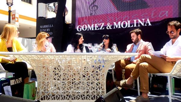 Marbella, luxury weekend, lujo en las redes sociales, precioso vestido blanco.