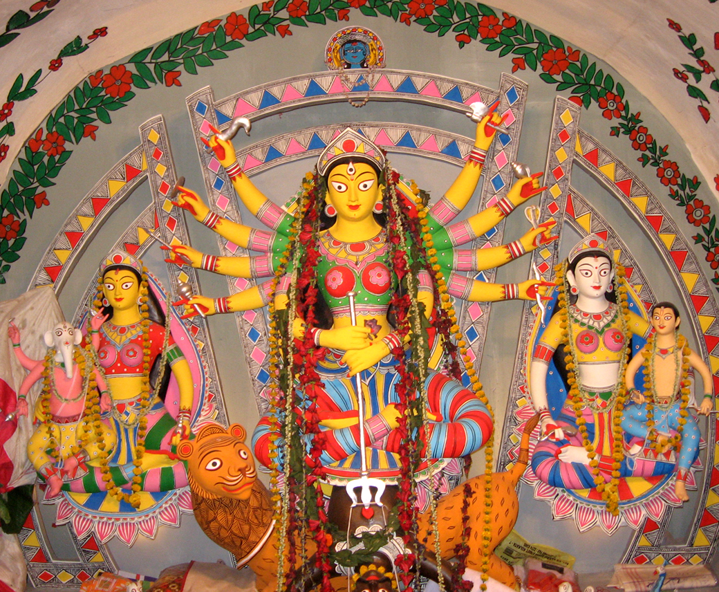 Durga puja at Laketown