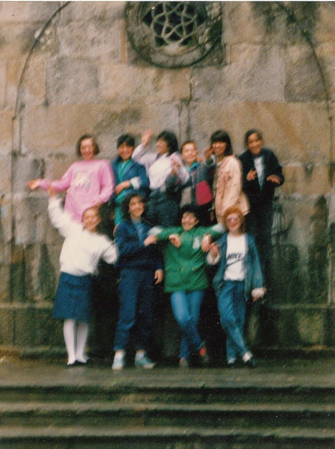 J-1988- EQUIPA DE BASQUETEBOL: Iniciados Femininos- Ponte de Lima