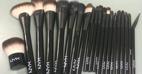 sneak peek  new nyx blended hair makeup brushes  coming