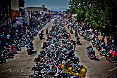 2012 Sturgis Motorcycle Rally by Dakota Visions Photography LLC Black Hills Main Street