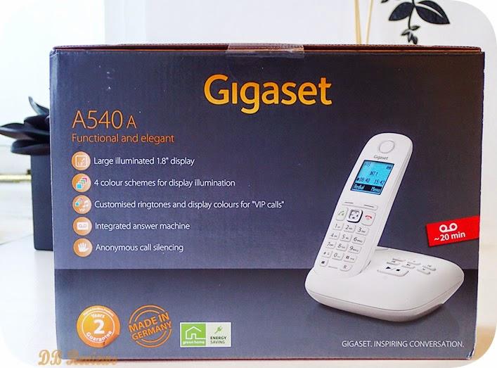 The Gigaset A540A