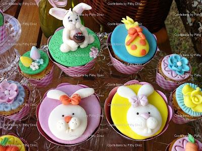 coelhos cups2 Páscoa da Confeitaria: Porque você é ESPECIAL!