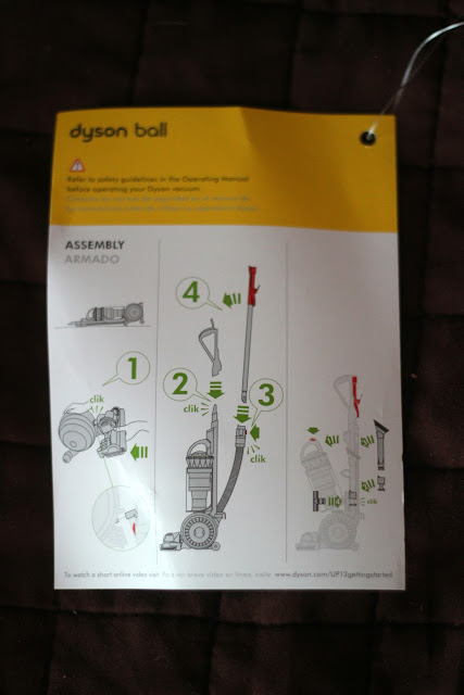 Review of the Dyson - Ball Animal Bagless Upright Vacuum