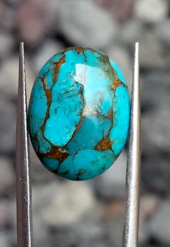 Batu Pirus Urat Emas