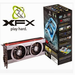Flipkart: Buy XFX AMD/ATI R7850 2 GB DDR5 Graphics Card + Amigo STK 2009 Gamepad Rs.9143